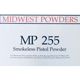 MP 255 Smokeless Pistol Powder - 20 lbs