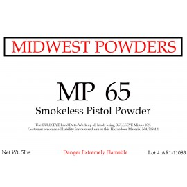 MP 65 Smokeless Pistol Powder - 20 lbs