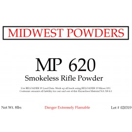 MP 620 Smokeless Rifle Powder - 8 lbs