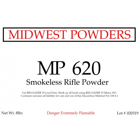MP 620 Smokeless Rifle Powder - 32 lbs