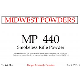 MP 440 Smokeless Rifle Powder - 16 lbs