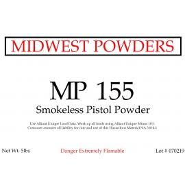 MP 155 Smokeless Pistol Powder - 5 lbs