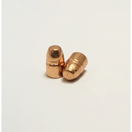 .38 / .357 124 Gr. Plated Flat Noise Projectiles - 500+ Ct.