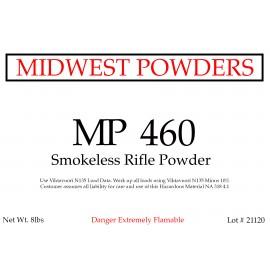 MP 460 Smokeless Rifle Powder - 8 lbs