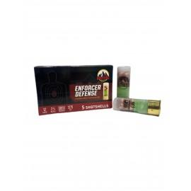 Cascade 12ga 00 Copper-Plated Buckshot Enforcer Defense Free Shipping - 250rds